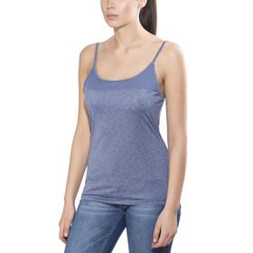 Columbia Saturday Trail Novelty Koszulka bez rękawów Kobiety niebieski